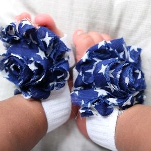 Other - Handmade Baby girl headbands and barefoot sandals